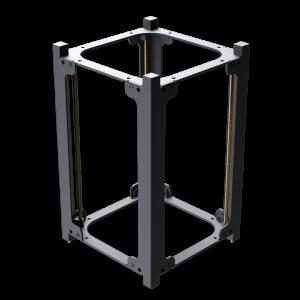 3u Cubesat Structure Ii Cubesat By Endurosat