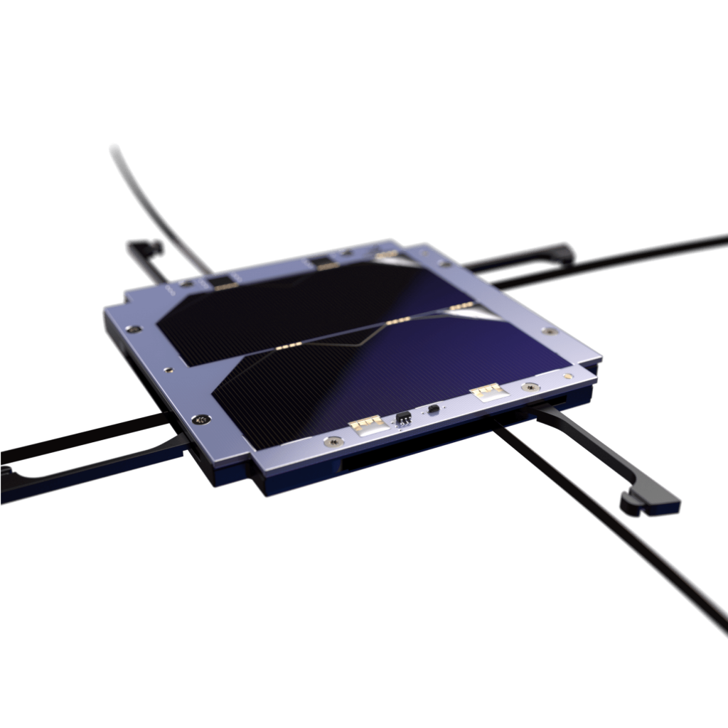 uhf-antenna-with solar panel z cubesat-endurosat-features