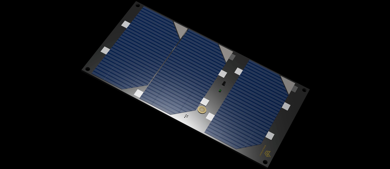 Cubesat 1 5u Solar Panel X Y Cubesat By Endurosat