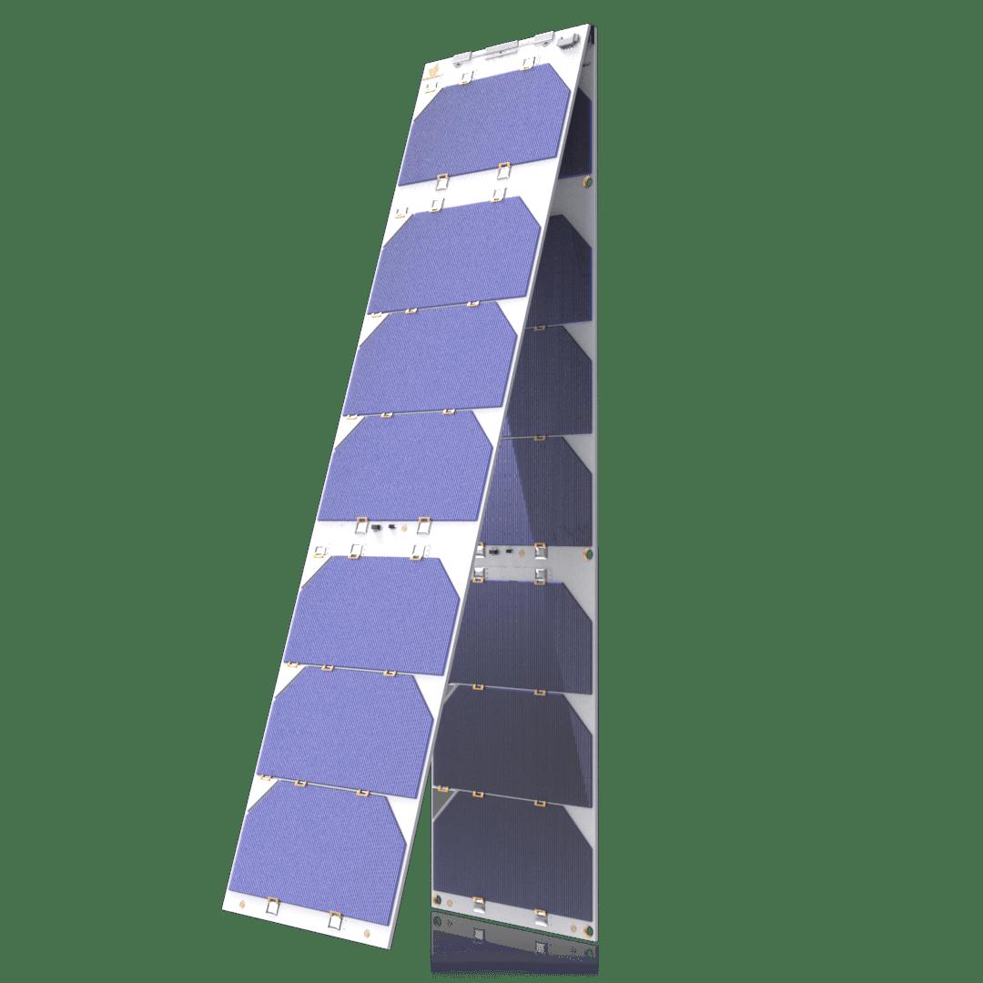 3U Single Deployable Solar Array | CubeSat by EnduroSat
