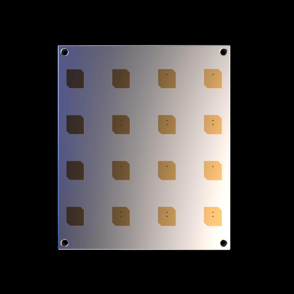 x-band-4x4-cubesat-antenna-endurosat front view